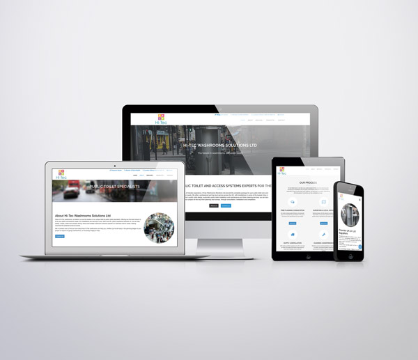 New Hi-Tec Washrooms Website