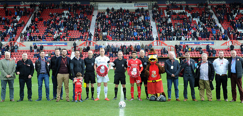Hi-Tec Washrooms Sponsors Swindon Town FA Cup Game