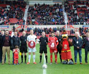 Hi-Tec Sponsors Swindon Town FC Remembrance Day