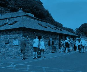 Cash & Contactless Pay Gate Installation In Boscastle