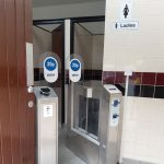 Womens Toilets Contactless Pay Gates